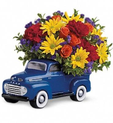 \'48 Ford Pickup Bouquet