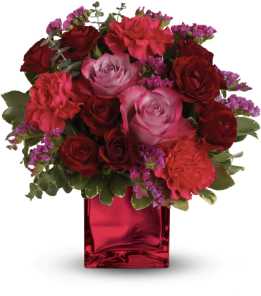Teleflora\'s Ruby Rapture Bouquet