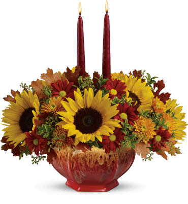 Thanksgiving Garden Centerpiece