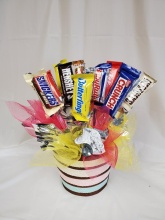 Mini Candy Bar Bouquet