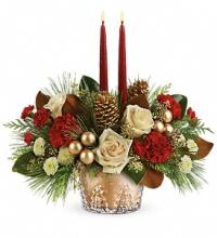 Winter Pines Centerpiece